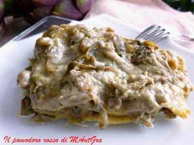 Ricetta: Lasagne ai carciofi
