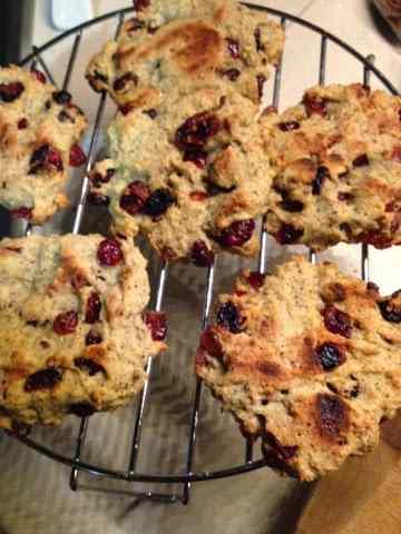 Ricetta: Biscotti di grano saraceno e mirtilli
