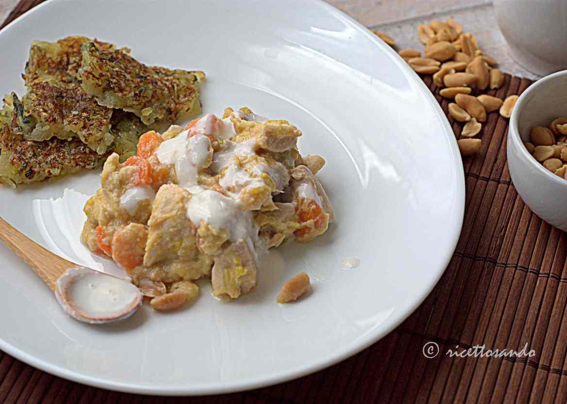Ricetta: Blanquette di pollo alle arachidi