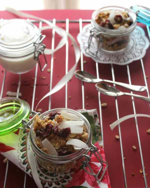 La ricetta della granola natalizia come petit cadeau da lasciare a babbo natale
