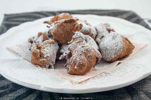 Ricetta: Frittelle di carnevale integrali con mele e uvetta