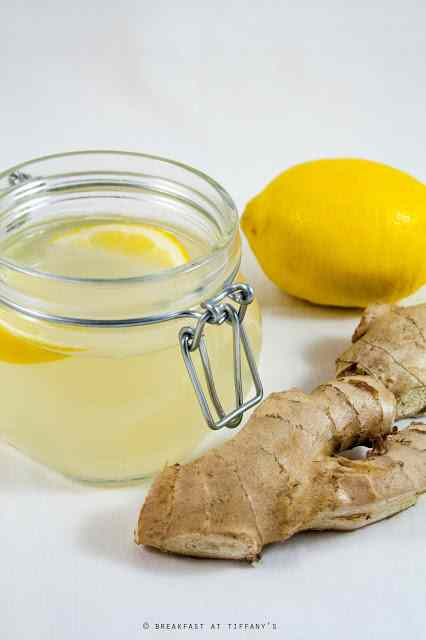 Ricetta: Tisana allo zenzero, miele e limone