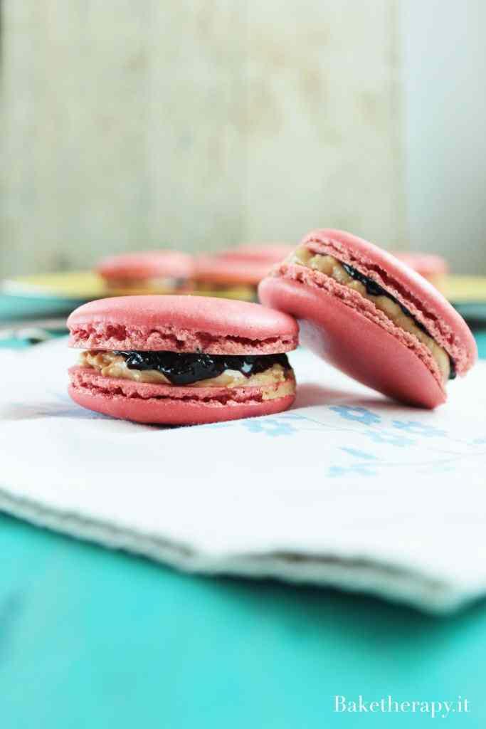 Ricetta: Macaron Peanut butter & jelly