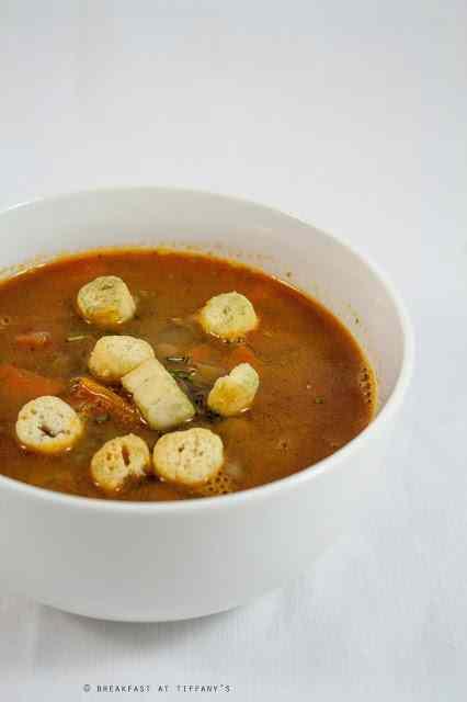 Ricetta: Zuppa di lenticchie / Lentils soup recipe