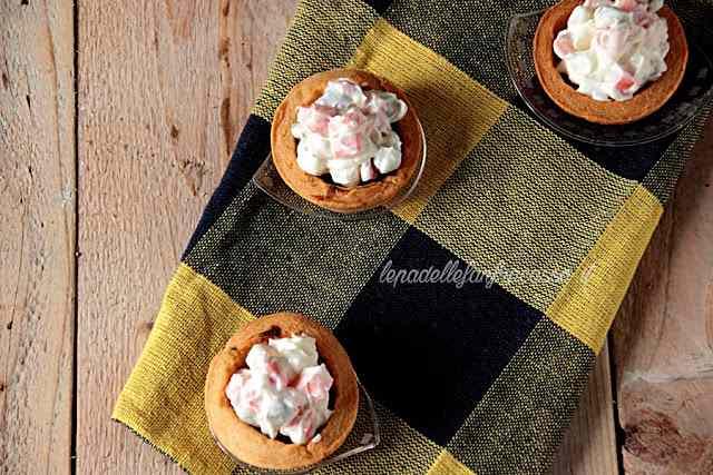 Ricetta: Tortine di pasta brisee con insalata russa