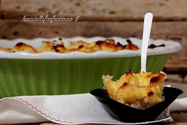 Ricetta: Cavolfiore bianco in salsa mornay