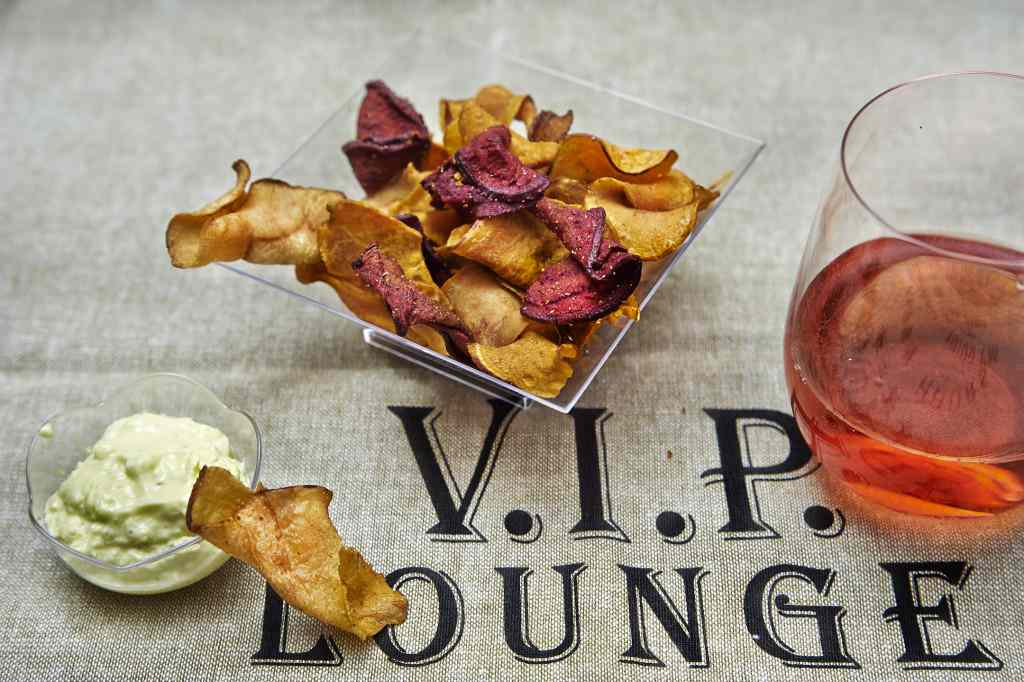 Ricetta: Chips e maionese veg