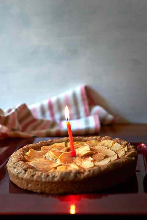 Ricetta: Crostata di mela e budino alla vaniglia