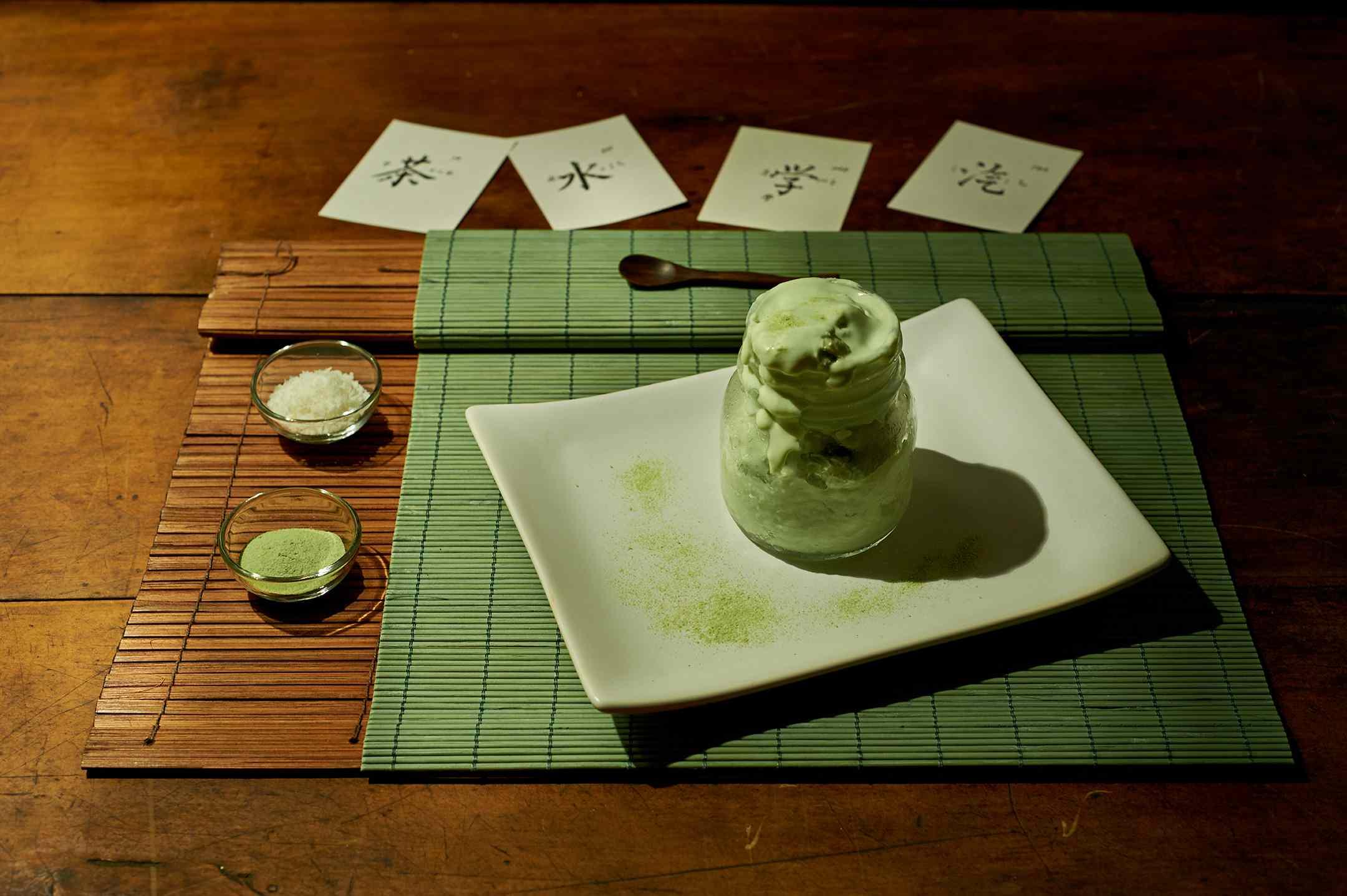 Ricetta: cocco gelato al the matcha