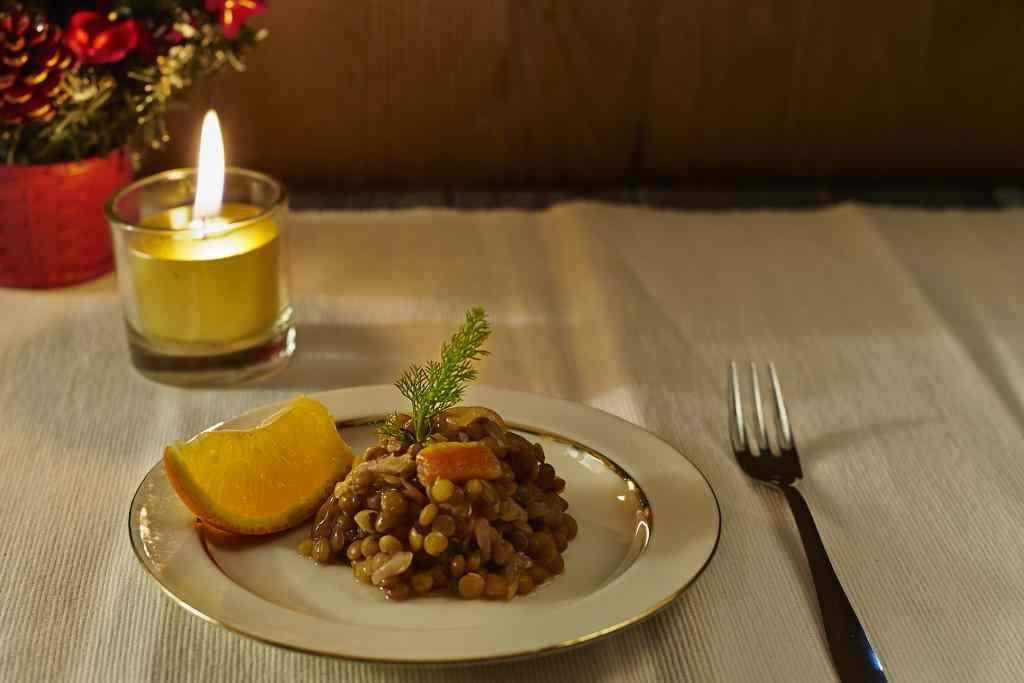 Ricetta: Lenticchie all'arancia