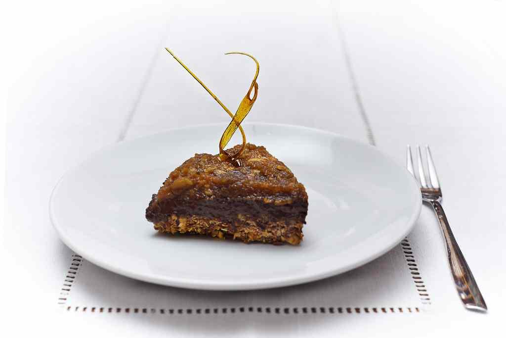 Ricetta: noncheesecake mela e cacao