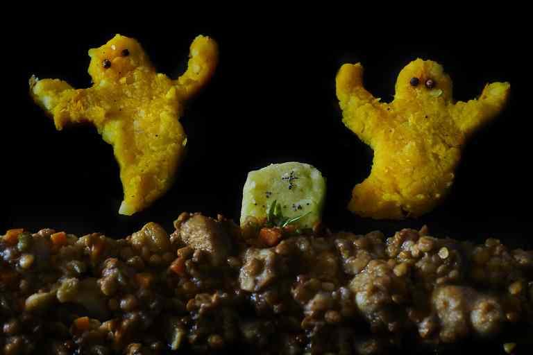 Ricetta: Spezzatino di castagne e lenticchie