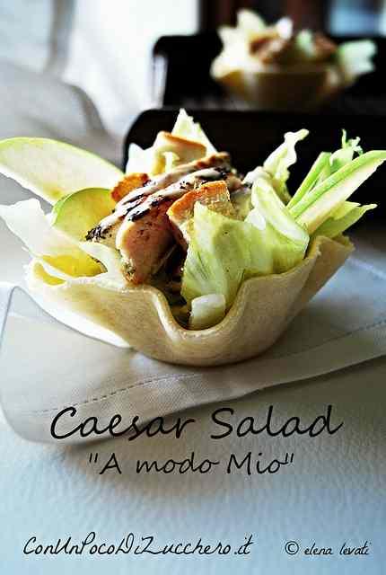Ricetta: Caesar Salad 'a modo mio'