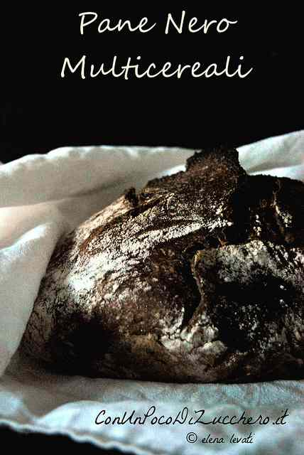 Ricetta: Pane nero multicereali