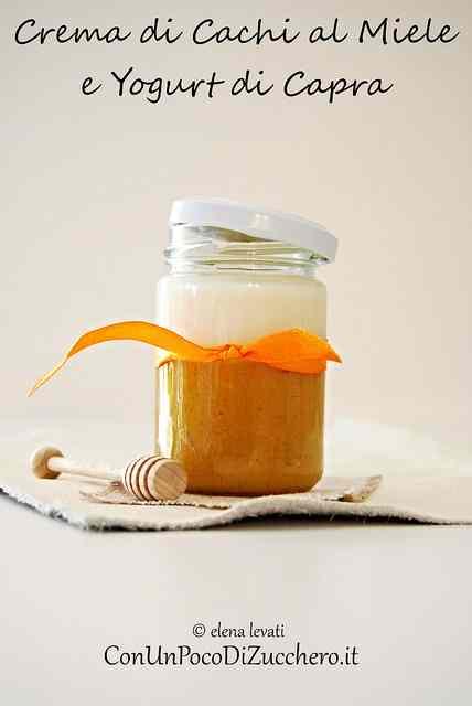Ricetta: Crema di cachi al miele e yogurt