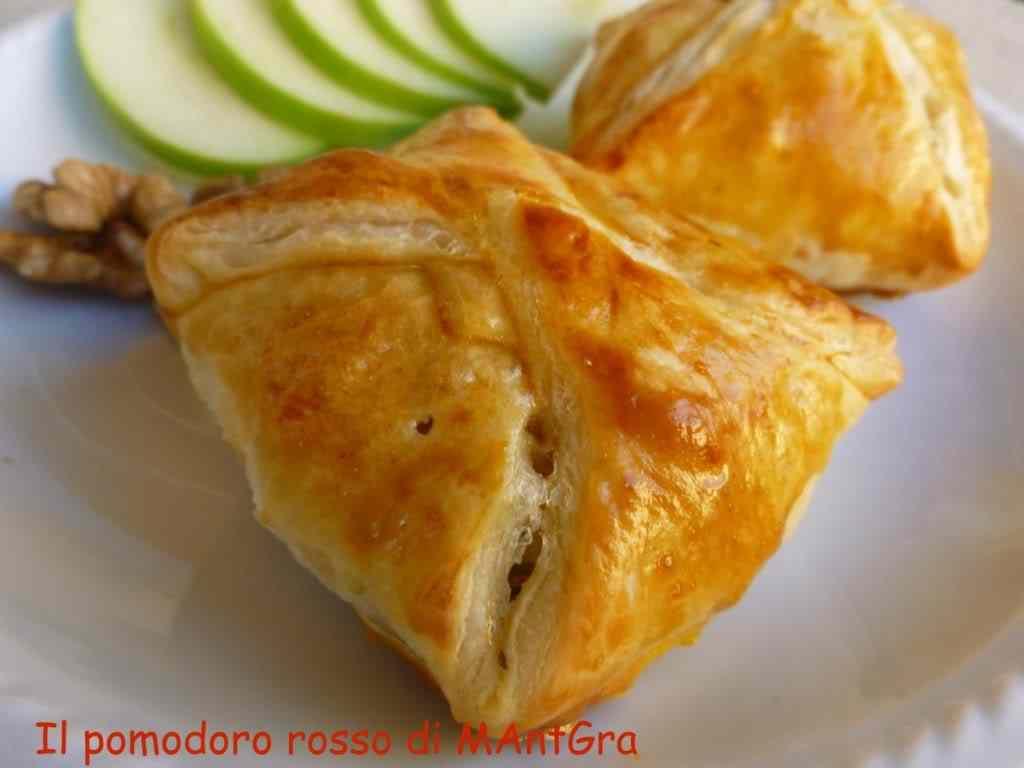 Ricetta: Fagottini di mele verdi, fontina e noci