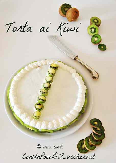 Ricetta: Torta ai kiwi e ricotta