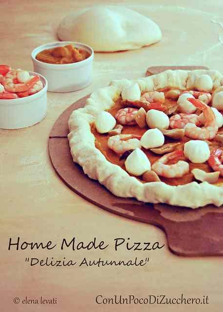 Ricetta: Pizza fatta in casa: delizia autunnale