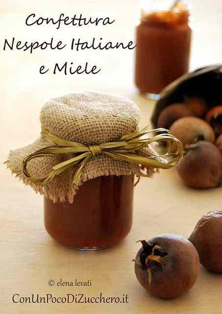 Ricetta: Confettura di nespole invernali al miele (senza zucchero)