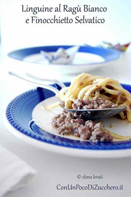 Ricetta: Linguine con ragu bianco e finocchietto