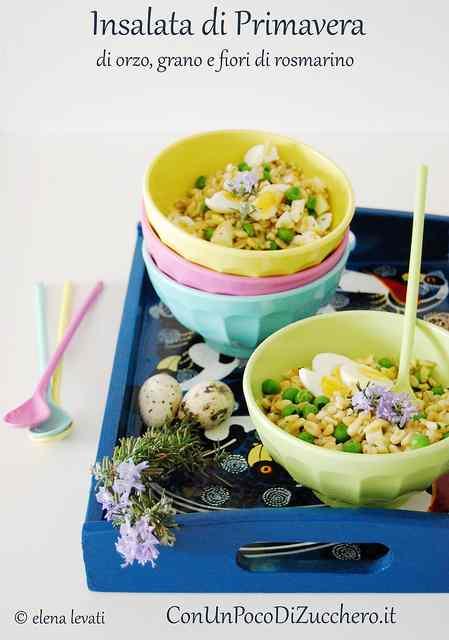 Ricetta: Insalata di primavera: di orzo e grano