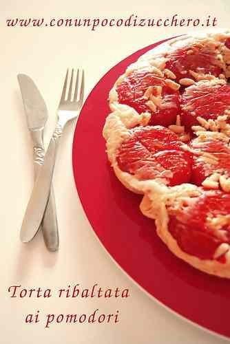 Ricetta: Torta ribaltata di pomodori
