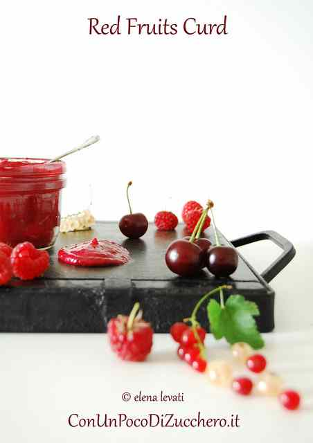 Ricetta: Red fruits curd