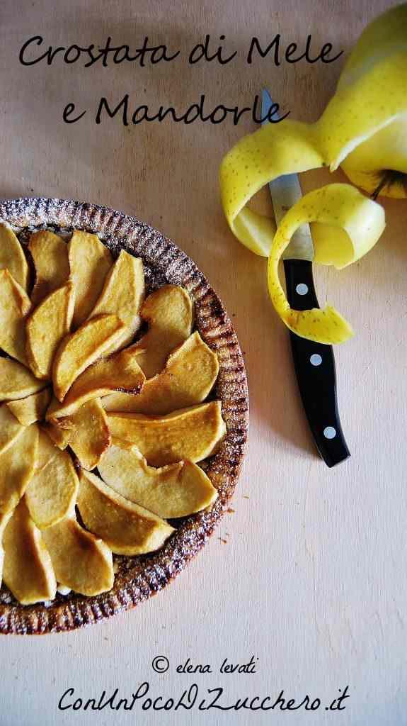 Ricetta: Crostata di mele e mandorle