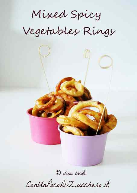 Ricetta: Street Food: Mixed spicy vegetables rings
