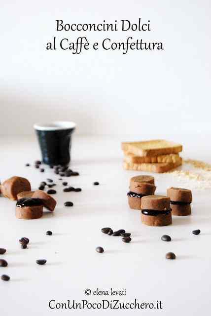 Ricetta: Bocconcini dolci al caffe e confettura