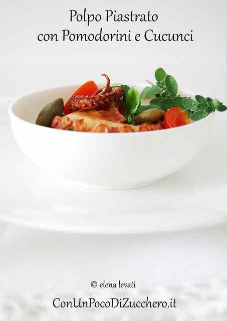 Ricetta: Polpo piastrato in insalata