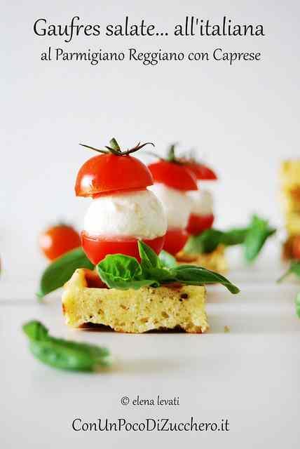 Ricetta: Gaufres salate all'italiana