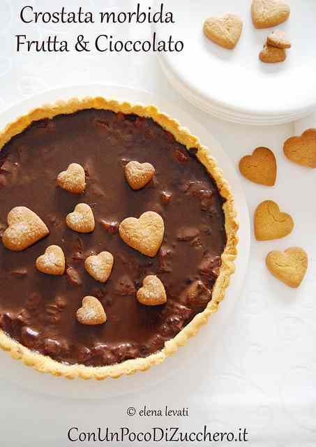 Ricetta: Crostata morbida frutta e cioccolato
