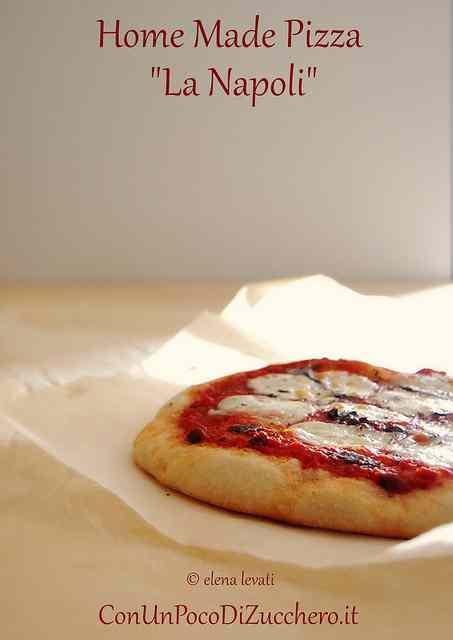 Ricetta: Pizza fatta in casa: La Napoli