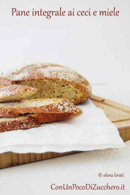 Ricetta: No knead bread integrale ai ceci e miele