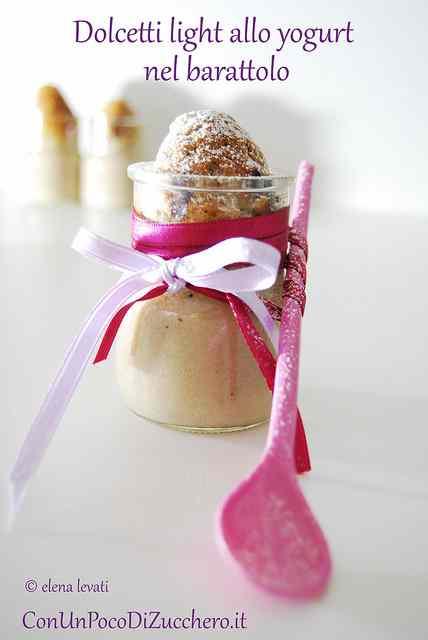 Ricetta: Dolcetti light allo yogurt nel barattolo