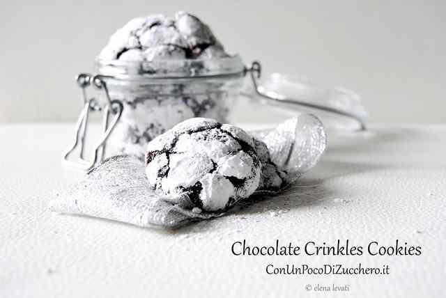 Ricetta: Chocolate Crinkles Cookies