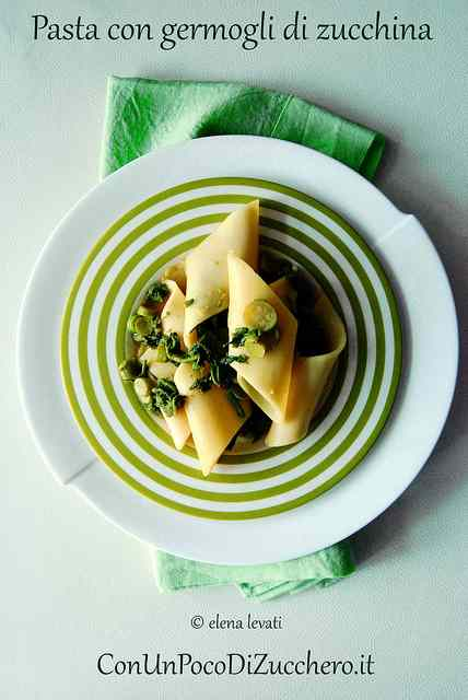 Ricetta: Pasta con i germogli di zucchina