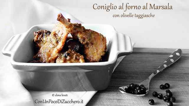 Ricetta: Coniglio, olive e cipolline in agrodolce