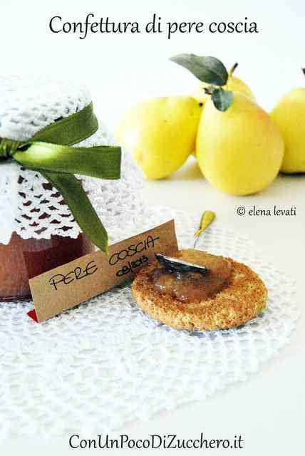 Confettura di pere coscia: loving breakfast!!