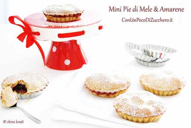Ricetta: Mele e Amarene: Mini Pie