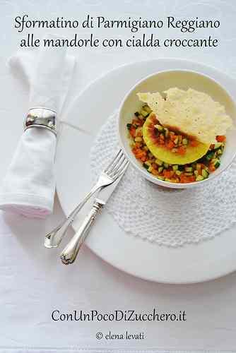 Ricetta: Sformatini di parmigiano reggiano alle mandorle