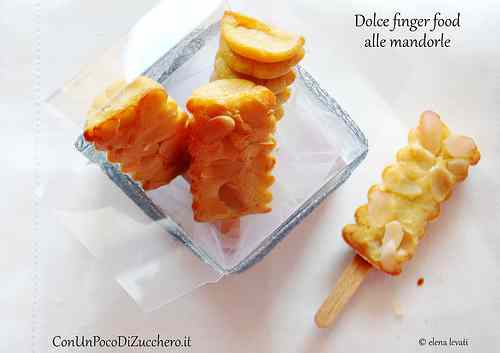 Ricetta: Riciclare in cucina: Sweet finger food alle mandorle