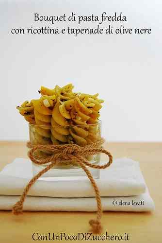 Bouquet di pasta fredda