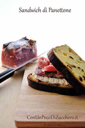 Ricetta: Panettone Sandwich: Insolito panino