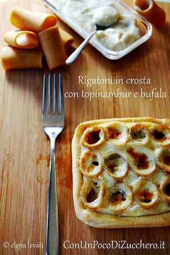 Ricetta: Le strade della mozzarella: rigatoni in crosta
