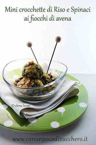 Ricetta: I love recycling parte II: crocchette di riso e spinaci