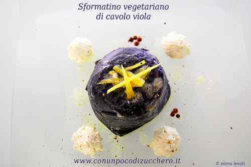 Ricetta: Sformatino vegetariano di cavolo viola