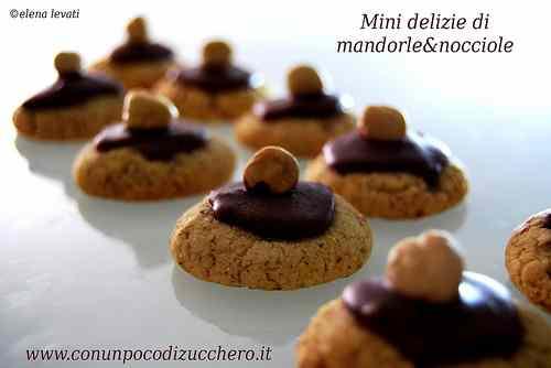 Ricetta: Mini delizie di mandorle e nocciole
