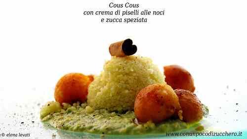 Ricetta: Antipasto di cous cous con zucca e noci